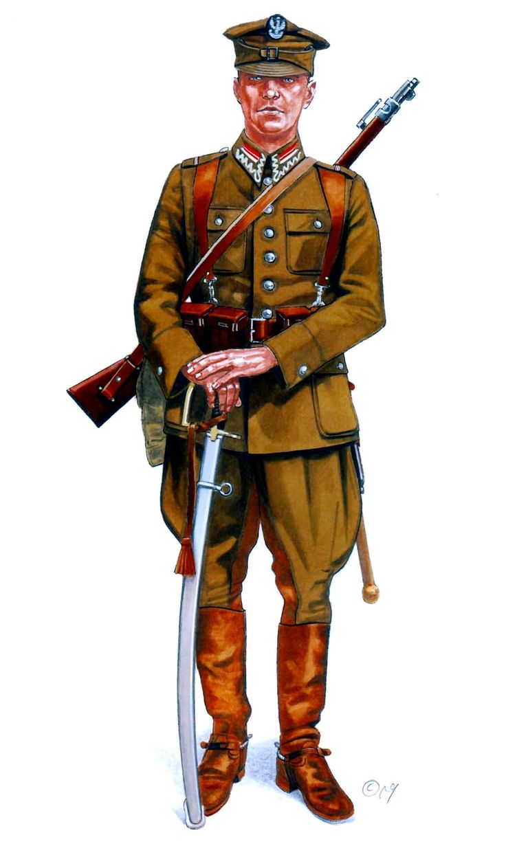 Oficial polaco armado con una carabina Wz 98a. Blitzkrieg, Polonia, Septiembre de 1939. Más en www.elgrancapitan.org/foro/