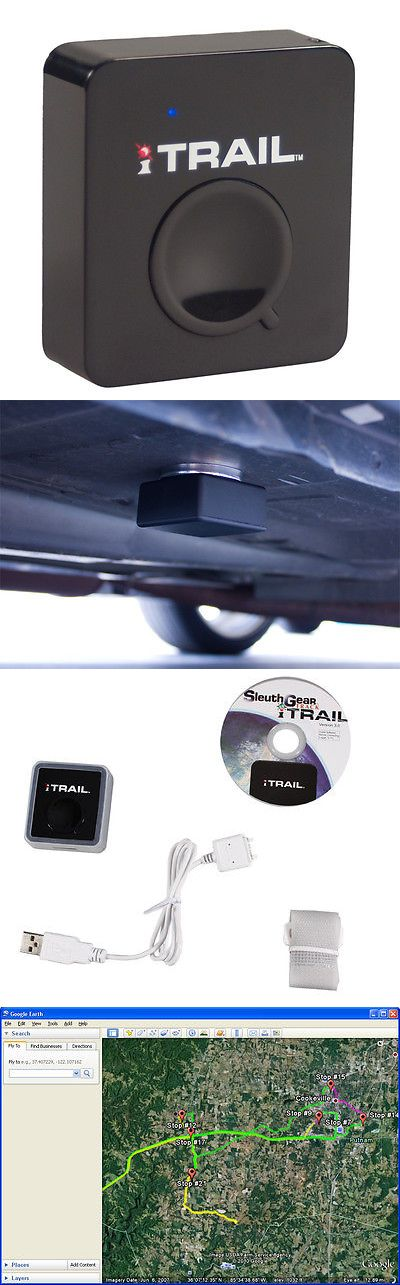 Tracking Devices: Itrail Gps Tracking Device And Free Magnetic Case Car Vehicle Tracker Data Logger BUY IT NOW ONLY: $189.0