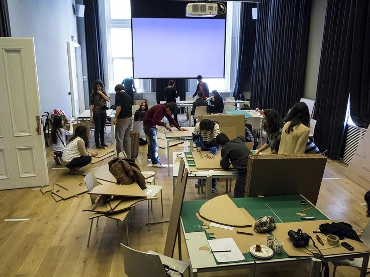 Başak Sanat  Vakfı öğrencilerinin katılımıyla gerçekleştirilen atölye, SALT Galata, Aralık 2012