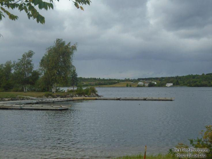 The Saint John River in Nickawic New Brunswick September 1st 2017