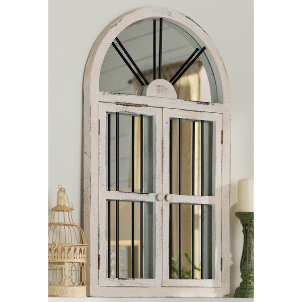 Faux Window Wood Wall Mirror Faux Window Wood Wall Mirror Window Design