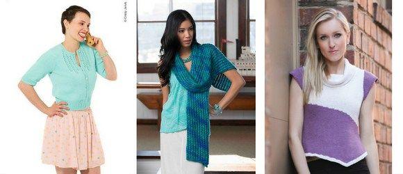 Summer Knitting Pattern Round Up