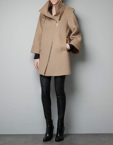 Manteau hiver femme zara 2015
