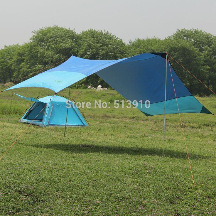 Pas cher Ultra   léger portable auvent / voiture roulant parasol camping canopy / BBQ party parasol canopy, Acheter  Abri soleil de qualité directement des fournisseurs de Chine:            Ultra-léger portable canopy/voiture roulant parasol camping auvent                   Tissu: 210 T polyester