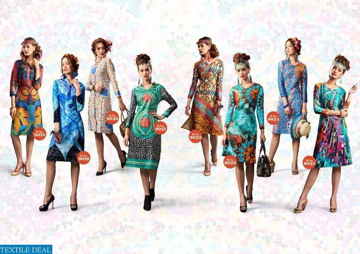 Buy Online Sp Era Wholesale Designer Long Printed Kurtis Collection at http://goo.gl/VhaoEq #TextileDeal is a leading Ladies Kurti Wholesalers in Surat Catalog pieces: 16 Full Catalog Price: 10400 Price Per piece: 650 Shipping Time: 4-5 days Sizes: L,XL,XXL,Free Size #FashionIndia #LadiesKurtis #WomensWear