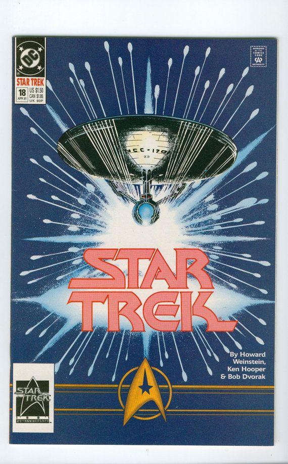 thailand silver 1991 Vintage Star Trek Number 18 April DC Comics
