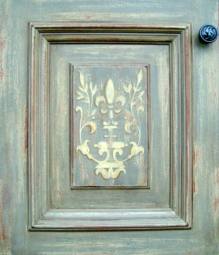 unique painted furniture | ... italian, Swedish Custom finishes, Distressed & Hand painted Ornament
