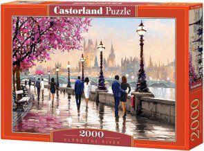 Puzzle 2000 Castorland C-200566 Spacer Wzdłuż Rzeki - Along the River