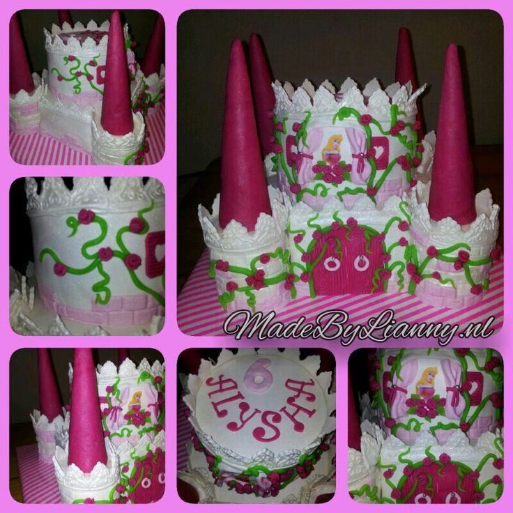 Disney Assepoester kasteel taart