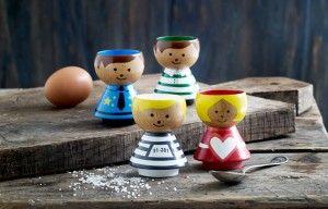 Handpainted Danish eggcups #traditional #bordfolk