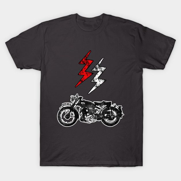 Rock Style Biker T-Shirt by Scar Design. tshirt #tshirtfashion #tshirtdesign #art #style #fashion #gifts #giftsforhim #giftsforher #caferacer #scrambler #popular #design #popart #tshirts #lightning #biker #rider #cool  #motorcycle #chopper #choppertshirt #onlineshopping #popular #39;s #motorcycles #clothes #awesome #menswear #menstyle #mensfashion #bikertshirt #family #kids #teepublic #tee #teen #badasstshirt #motorcycletshirt #moto #red #black #badass #clothing