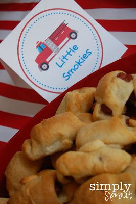 Kick off fire safety week with a fire safety party! ~ Simply Sprout