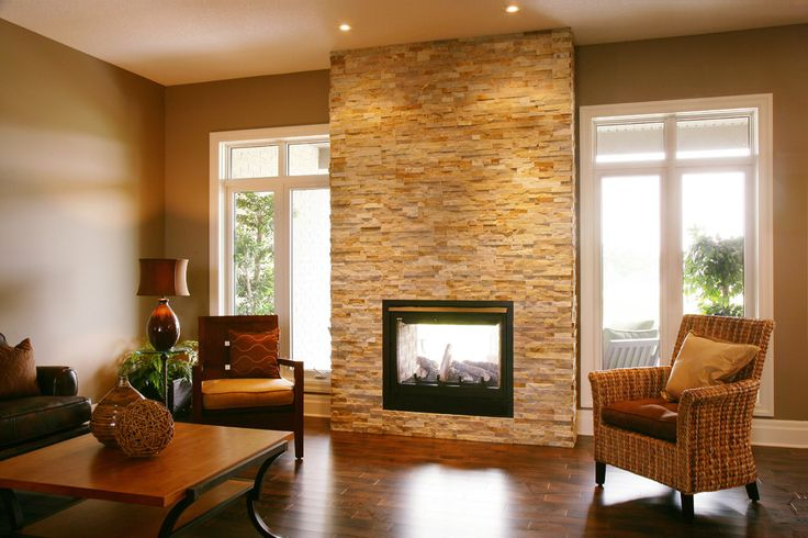 The 25 best indoor outdoor fireplaces ideas on pinterest for Inside outside fireplace