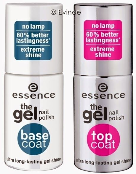 Essence Gel Base & Top Coats Nail Polish Spring 2015 I don't know if it's because I tool the time to properly use the products, but I just gave myself the best manicure I've ever done!!!