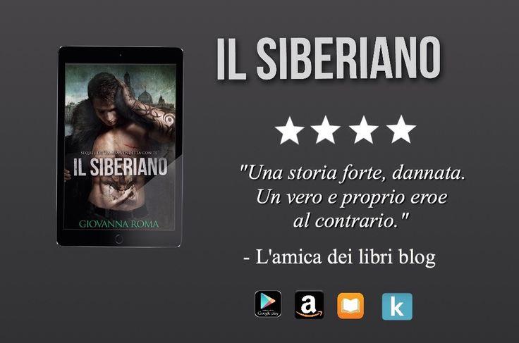 #IlSiberiano #sequel #dark #Maksim #Katerina #Review L'amica dei libri blog.