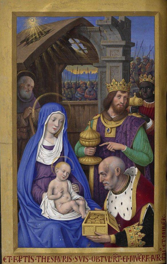 Manuscript illuminator Jean Bourdichon (1457-59-1521), 1503-08, Grandes Heures…