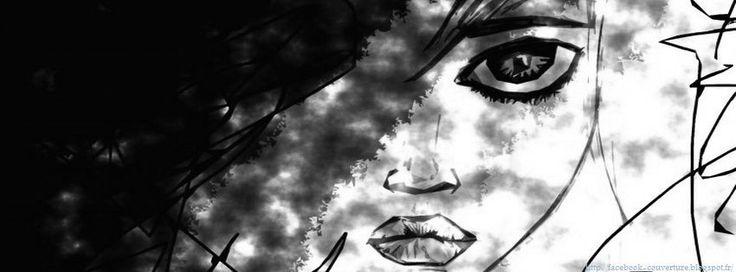 """Résultat de recherche d'images pour """"image de couverture facebook noir et blanc"""""""
