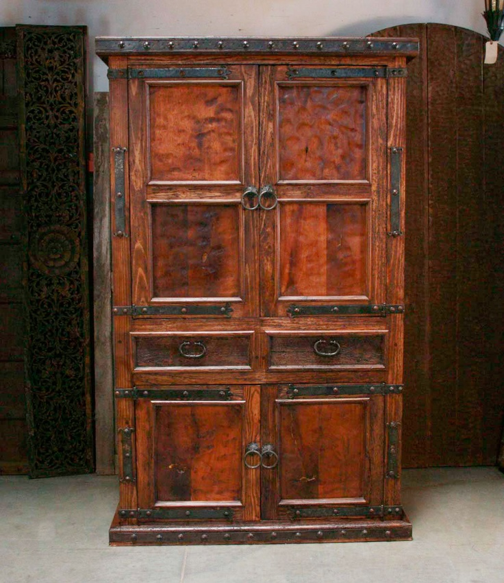 Captivating Armoire Would Be Nice In A Bedroom To Hold A Medium Sized Tv. Mexican  HaciendaA TvColonial FurnitureHouse ...