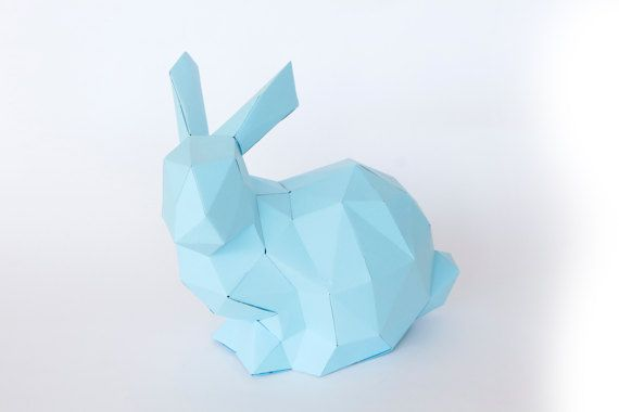 Beautiful Bunny 3D papercraft sculpture template. It tooks around 3 - 4 hours to finish him. For me is like meditating :) I hope you enjoy making him as much as I do. You will get a digital instant download PDF with all the instructions and pieces you need to make him real. He will look great decorating a shelve or auxiliar table at your home. You will need cardstock paper between 180 g - 220 g, scissors or craft knife, ruler, paper glue or liquid silicone. Size: 22 x 23 x 17H cm  Don´t…
