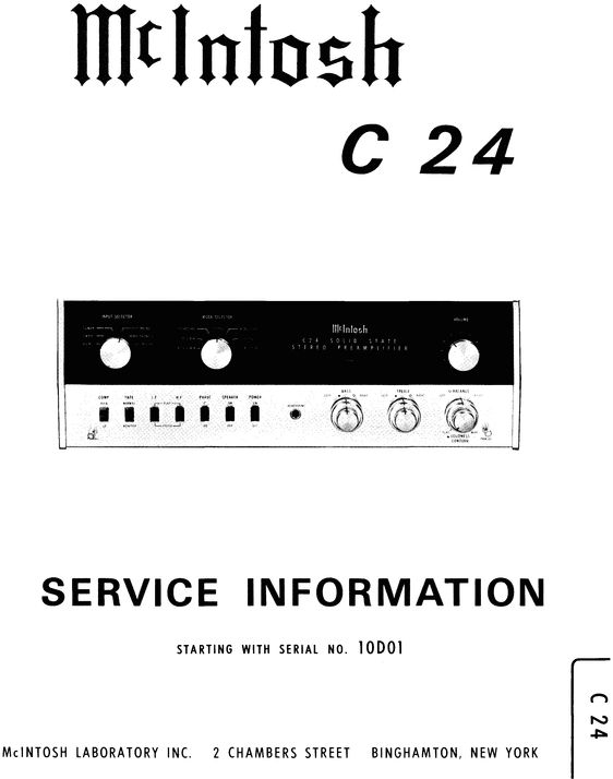 112 best McIntosh Service Manuals images on Pinterest