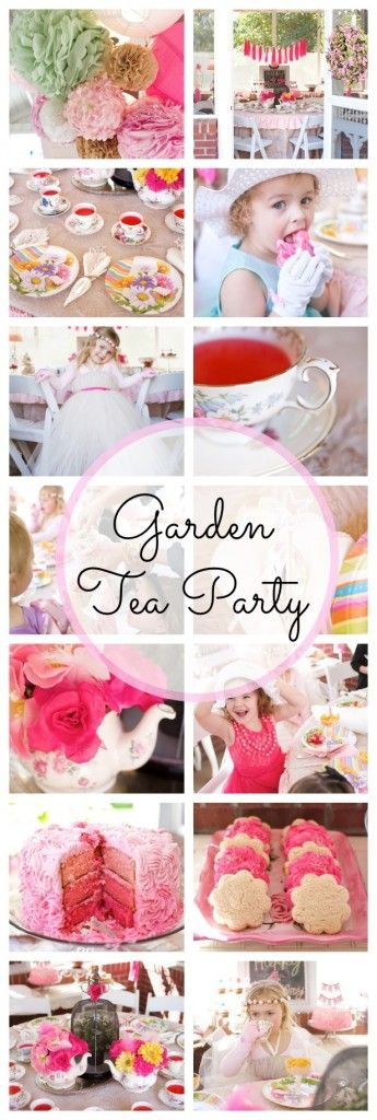 Garden Tea Party Love the idea of making the sandwiches using colored bread!