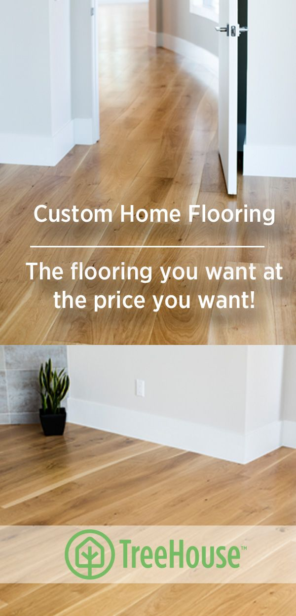 The flooring of your dreams! TreeHouse has multiple beautiful and all natural  flooring options for