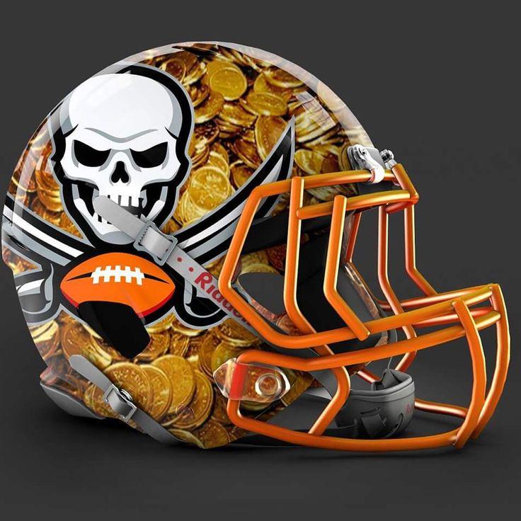 Tampa Bay Buccaneers alt helmet design