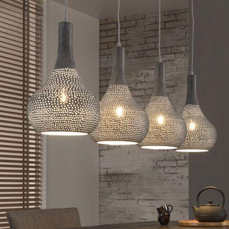 Design lamp van metaal - Santa Brada - LUMZ.nl #LampEettafel