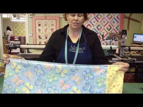 quick and easy pillow case tutorial from the Missouri Star Quilt Company
