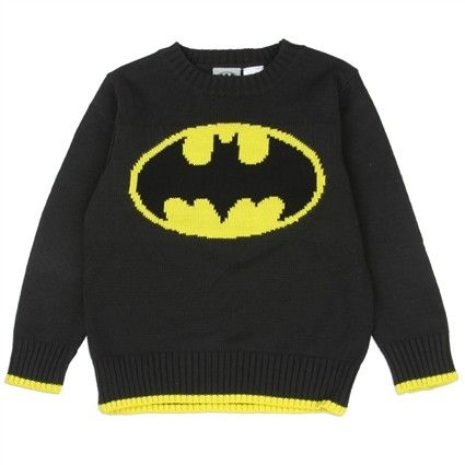 Sizes 2T 3T 4T     Made From 55% Cotton 45% Acrylic     Label DC Comics Batman     Officially Licensed DC Comics Batman Apperal