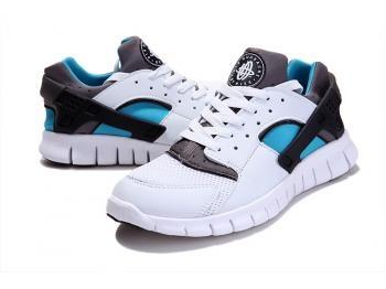 Cheap Nike Huarache Free Mens Run Trainers Size UK 11 LE White / Grey Sale UK -Nike Huarache Free