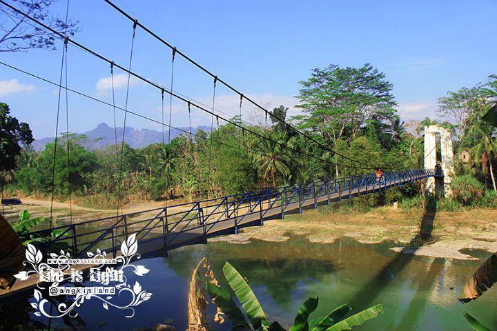 JustFun,Play,andKidd: Jembatan Gantung Karangsambung Kebumen Keren