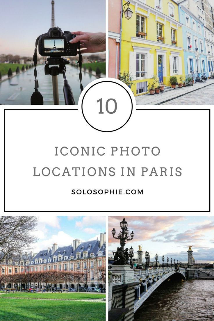 10 iconic photo locations in paris