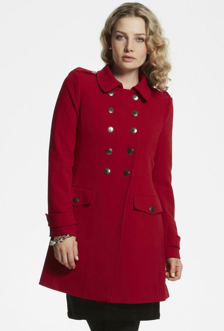 Military Coat from @Max Strandlund  @Kay Beaver New Zealand #colourfulcoat #winter
