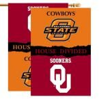 Ncaa 28 in. x 40 in. Oklahoma/Oklahoma State Rivalry House Divided Flag