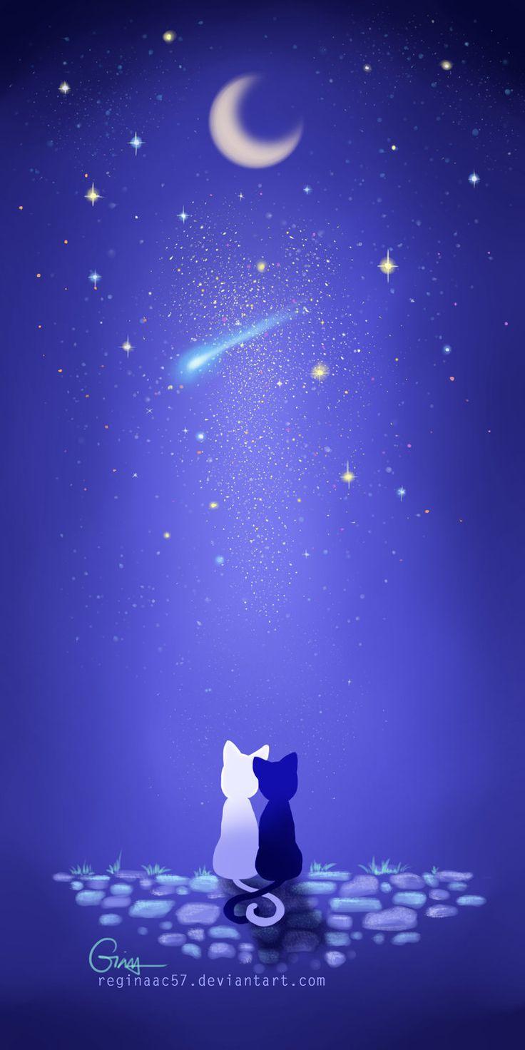 Luna and Artemis by reginaac57 on DeviantArt                                                                                                                                                     More