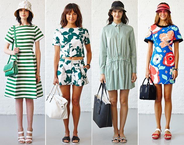 Kate Spade Spring Summer 2015 Collection New York Fashion Week Spring New York And New York
