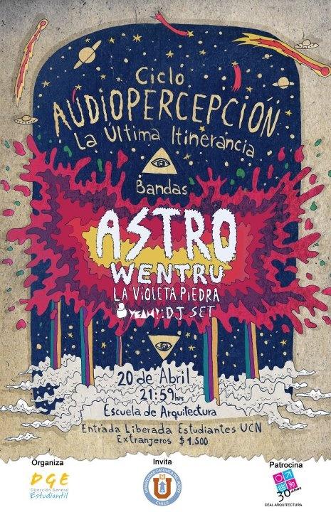 Hoy Astro estará en vivo en Antofagasta http://www.productonacional.cl/astro-en-vivo-en-antofagasta-20-de-abril