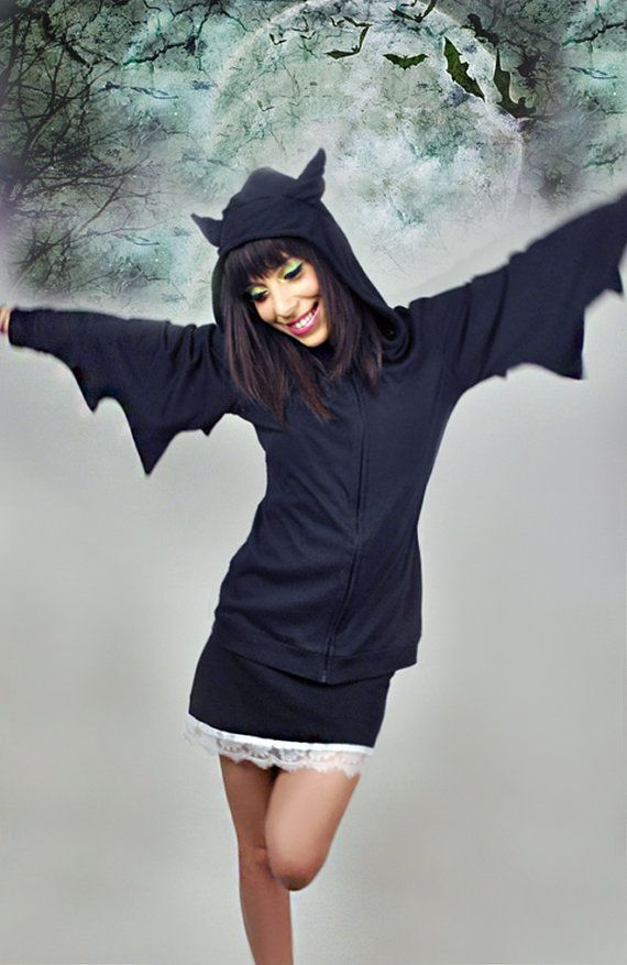 Hey, I found this really awesome Etsy listing at http://www.etsy.com/listing/99069387/bat-hoodie-jacket