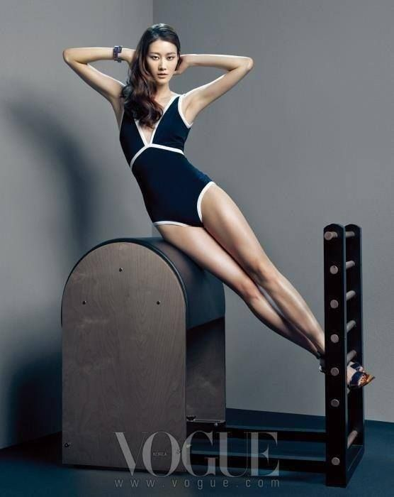 Vogue loves pilates