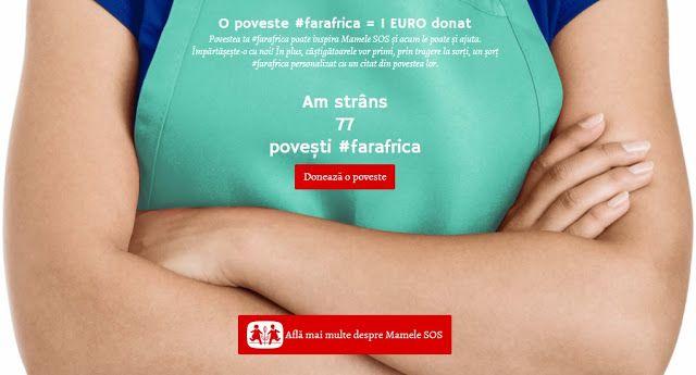 Newparts Info: Doneaza si tu o poveste #farafrica