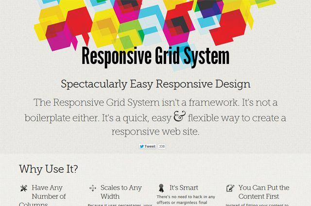 Responsive Grid System: Flexible Spaltenlayouts für verschiedenste Clients webdesign css