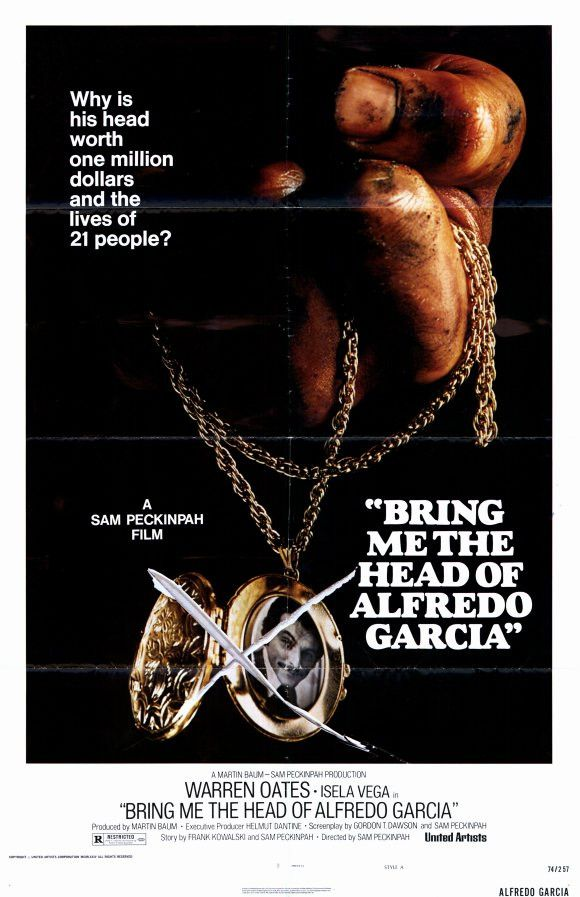 Bring Me the Head of Alfredo Garcia 11x17 Movie Poster (1974)