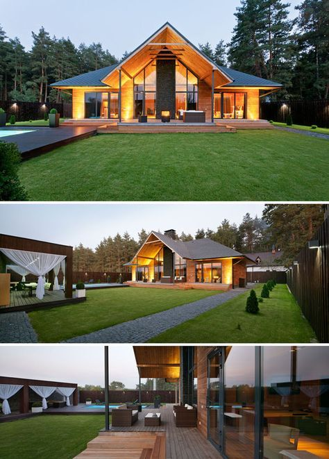 cool chalet by YOD Design Lab