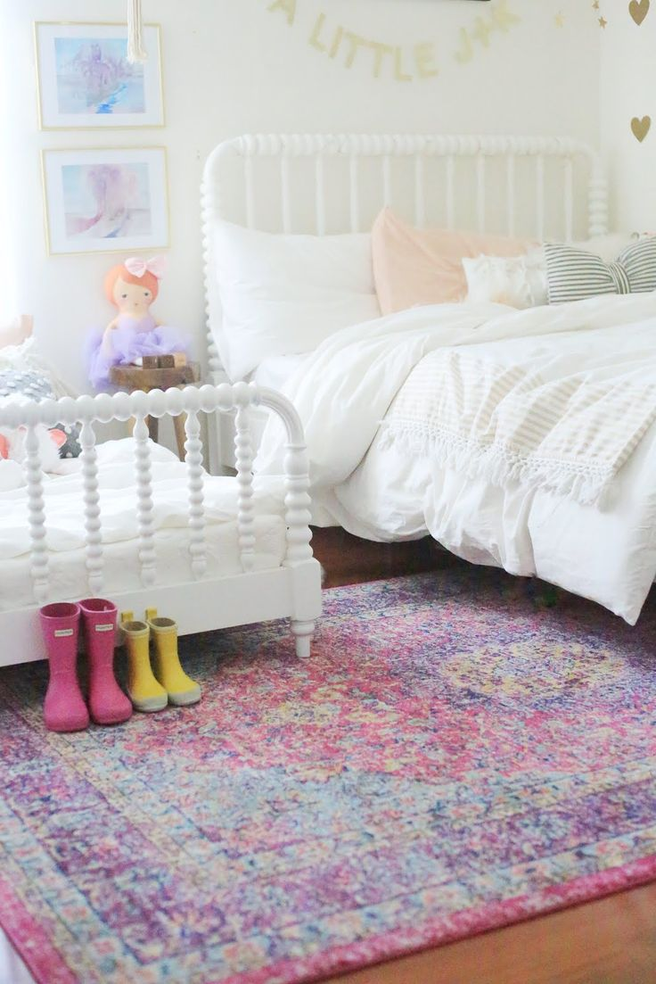 So Excited To Finally Share All The Details Of The Girlsu0027s Shared Room With  Rugs USAu0027s