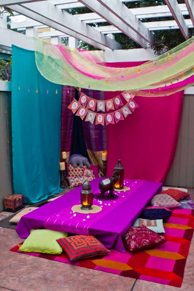 Bollywood Birthday Party Ideas | Photo 2 of 52 | Catch My Party