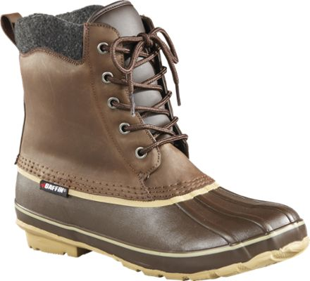 Baffin Men's Moose All-Season Insulated Snow Boots Brown 11