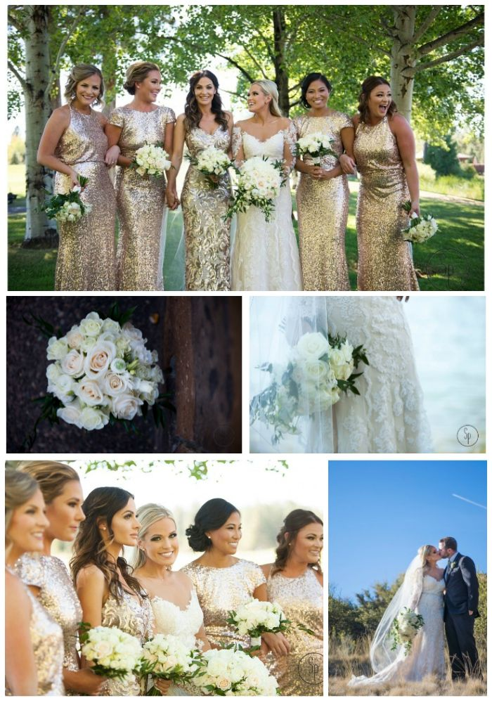 Fresh white gold and ivory wedding summer wedding wedding flowers bridal bouquets