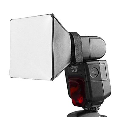 Universal Flash Pixco Flash Diffuser For Canon 580EX 430EX II Nikon SB-900 SB-800 SB-600 – USD $ 1.99