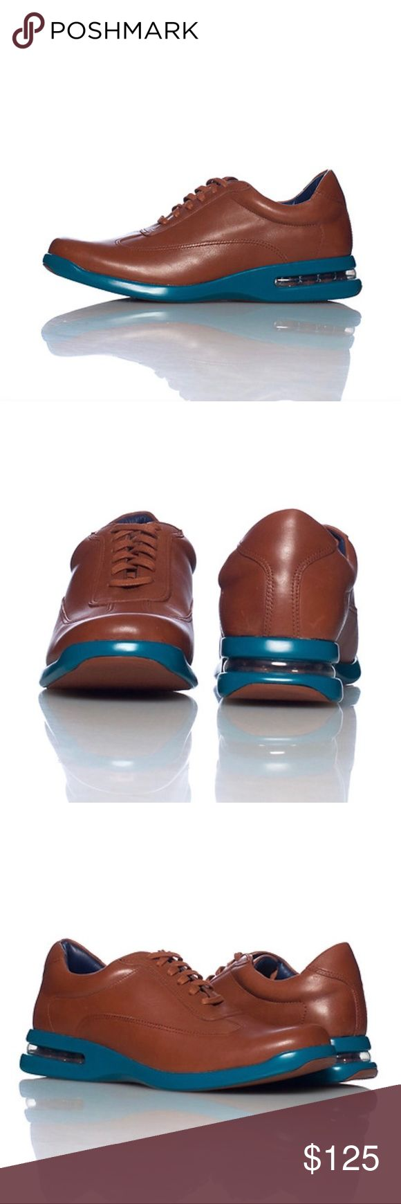Cole Haan Air Conner shoe - size 14 Cole Haan Air Conner shoe in Brown leather - size 14 NEW Low top leather shoe  Lace closure  Air bubble heel  Cushioned inner sole FIT: True to size FABRIC: Leather Cole Haan Shoes Oxfords & Derbys